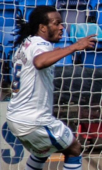 Ian Goodison - Goodison playing for Tranmere Rovers in 2011