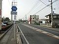 Ibaraki pref road 190 in Kunou.JPG