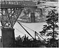 Ice conditions in the Columbia River under highway bridge. Pier No. 2 and a portion of circular steel caisson appear... - NARA - 294245.jpg