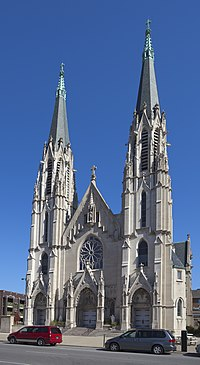 Iglesia católica de Santa María, Indianápolis, Estados Unidos, 2012-10-22, DD 01.jpg