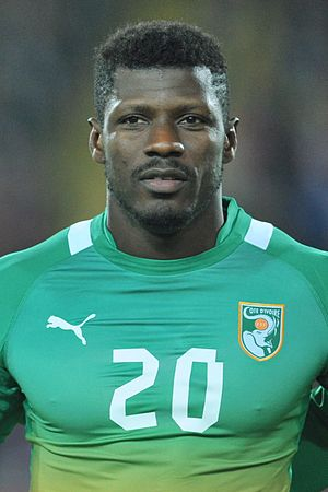Igor Lolo - Playing for Ivory Coast in 2012