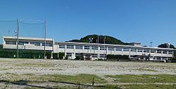 Iki City Watara Junior High School.jpg