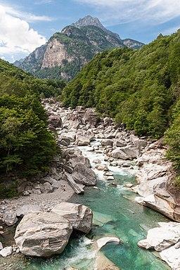 Im Verzascatal, Tessin, Schweiz