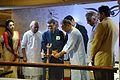 Imdadul Haq Milon Lighting Inaugural Lamp - Apeejay Bangla Sahitya Utsav - Kolkata 2015-10-10 4898.JPG