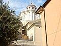 Imperia, Porto Maurizio, basilique Saint-Maurice, coupole.jpg