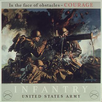American propaganda during World War II - In the face of obstacles - COURAGE