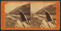 Index (Finger) Rock, Upper Weber Canyon, near Tunnel No. 3. Union Pacific Railroad, from Robert N. Dennis collection of stereoscopic views.png