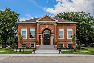Indianola Carnegie Library United States historic place