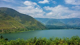 Lake Toba Crater lake located in Sumatra, Indonesia