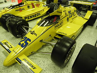 Al Unser - Al Unser's 1987 Indy 500 winning car.