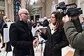 Ines Pierucci Assessora alla cultura del Comune di Bari intervistata da TRM - Wiki Loves Puglia exhibition 2019.jpg