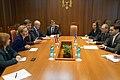 Inese Lībiņa-Egnere un Andrejs Klementjevs tiekas ar Moldovas Ārlietu un Eiropas integrācijas ministres vietnieku (14935128124).jpg
