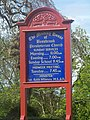 Information Board at Bessbrook Presbyterian Church - geograph.org.uk - 1345582.jpg