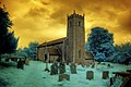 Infrared All Saints church Thornage Norfolk (3022073073).jpg