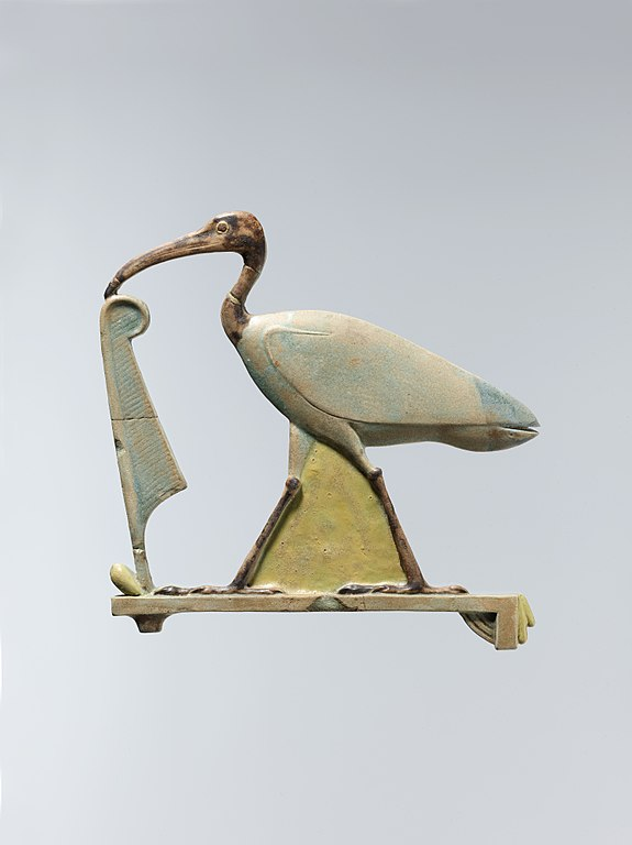 575px-Inlay_depicting_Thoth_as_the_ibis_