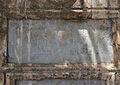 Inscripció romana dedicada a Isis, passeig de la Petxina, València.JPG