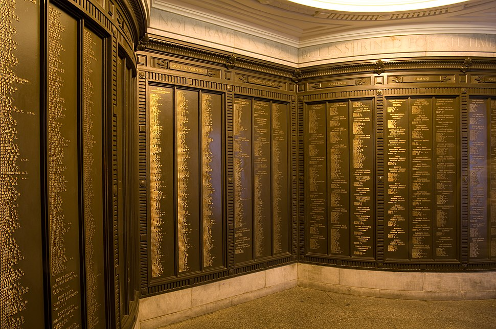 Inside the National War Memorial (South Australia)