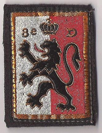 8th Infantry Division (France) - Image: Insigne en tissu de le 8e division d'infanterie
