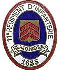 Insigne régimentaire du 11e Régiment d'Infanterie.jpg