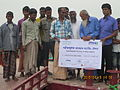 Installation of experimental floating landing station at Meghai Jamuna Adarsha ghat, Sirajganj 21.JPG