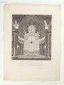 Interiör från högaltaret i Riddarholmskyrkan i samband med Ulrika Eleonora d.y. död 1741 - Skoklosters slott - 98100.tif