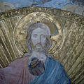Interieur, detail van gewelfschildering in het koor, tijdens restauratie - Maastricht - 20382815 - RCE.jpg