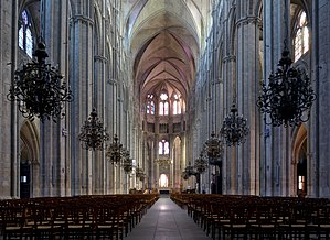 Bourges Cathedral - Inside of the Cathedral
