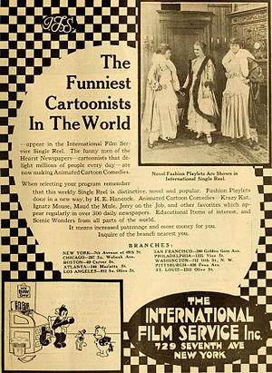 International Film Service - Advertisement (1916)