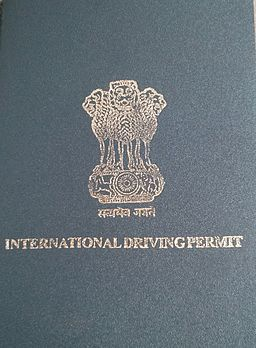 International driving permit - India
