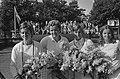 Internationale tenniskampioenschappen te Hilversum, vln C Sandberg, B Stove , Bestanddeelnr 924-7783.jpg