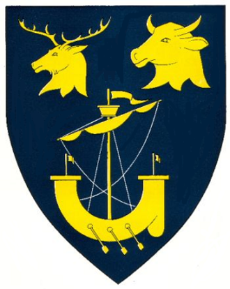 Inverness-shire - Arms of the former county council