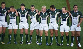 Ireland men's national rugby league team - Ireland at the 2008 World Cup.