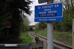 Iron Acton railway station MMB 04.jpg