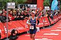 Ironman Frankfurt 2011 - Susan Dietrich im Ziel.jpg