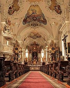 Ischgl church interior from below 3.jpg