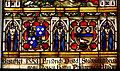 Isny Nikolaikirche Fenster Jesus und die Kinder Wappen Distel Ludwig.jpg