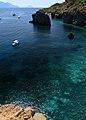 Isola di Panarea - Vista dal villaggio preistorico.jpg