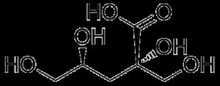 Isosaccharinic acid chemical compound