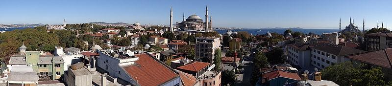 Panorama des heutigen Istanbuls. Foto: Harkolufs, wikipedia.de