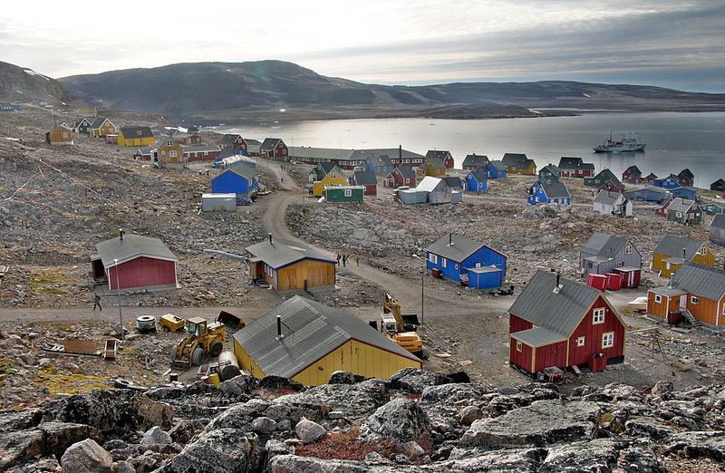 Cidade isolada Groelândia