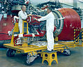 J-2 engine being processed at Marshall Space Flight Center 6520309.jpg
