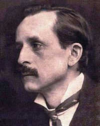 J. M. Barrie, the boys' foster father