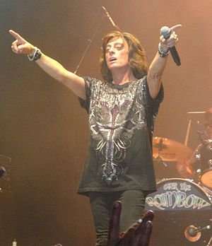 Joe Lynn Turner - Turner performing in Sweden - 2010