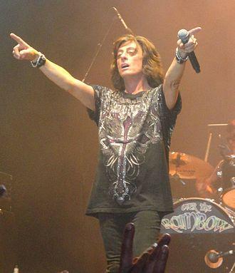 Joe Lynn Turner - Turner performing in Sweden - 2010