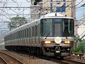 Biwako Line - 223-2000 series EMU on a Biwako Line Special Rapid service