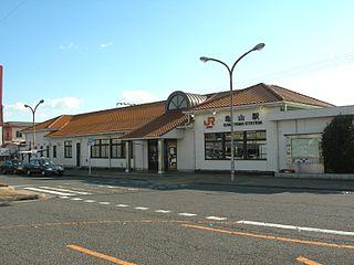 Kameyama Station (Mie) Railway station in Kameyama, Mie Prefecture, Japan