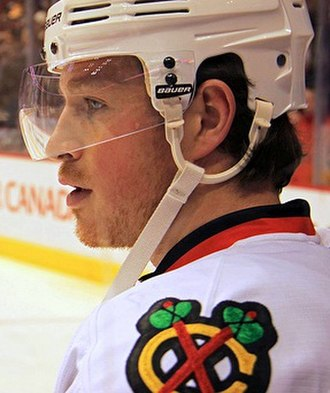 Jack Skille - Skille during his tenure with the Blackhawks.