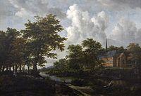Jacob van Ruisdael (ca.1628-1682) - Landschap - Lissabon Museu Calouste Gulbenkian 21-10-2010 13-23-08.jpg