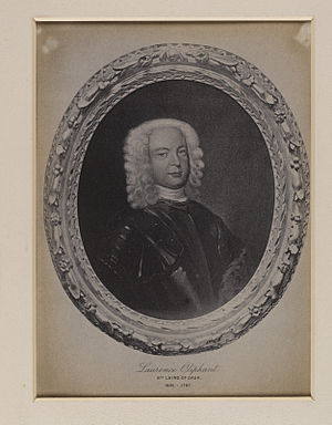 Laurence Oliphant (Jacobite) - Portrait of Laurence Oliphant dressed in armour