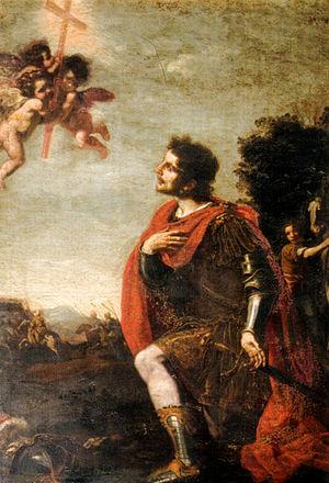 Jacopo Vignali - Image: Jacopo Vignali, apparizione della croce a costantino